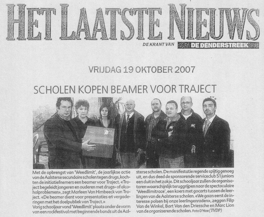 19oktober2007laatstenieuws