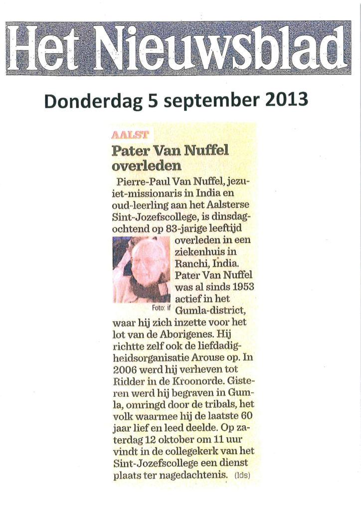 2013-09-05 - Nieuwsblad-1