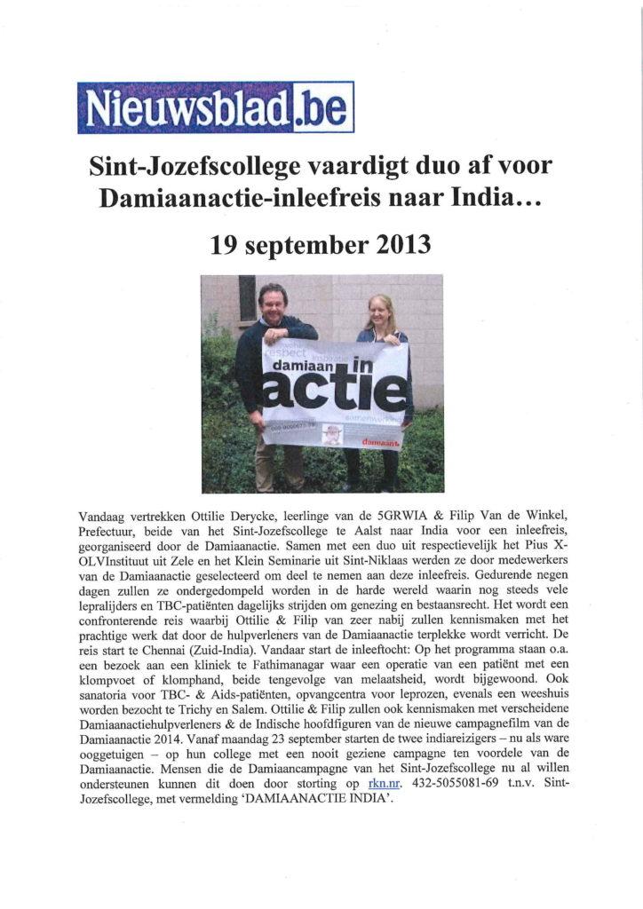 2013-09-19 - Nieuwsblad-1