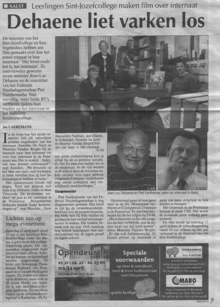 21april2006nieuwsblad